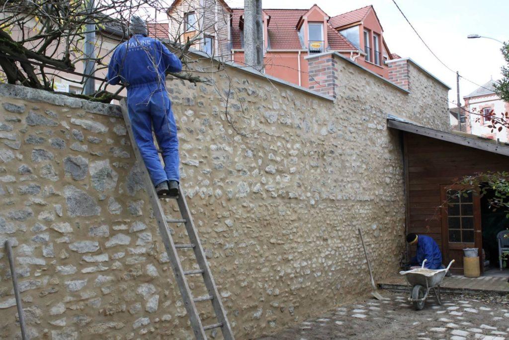 Élévation de mur et réalisation d'enduits à Montargis<div style='clear:both;width:100%;height:0px;'></div><span class='cat'>MAÇONNERIE</span>