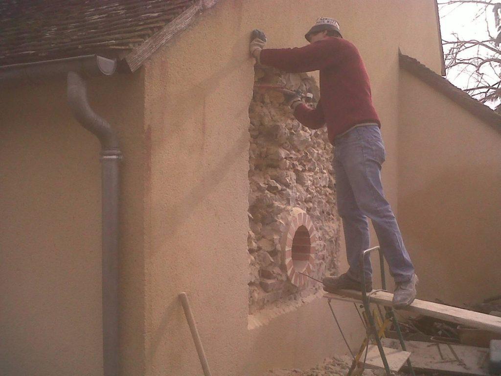 Percement du mur porteur à Chuelles<div style='clear:both;width:100%;height:0px;'></div><span class='cat'>MAÇONNERIE</span>